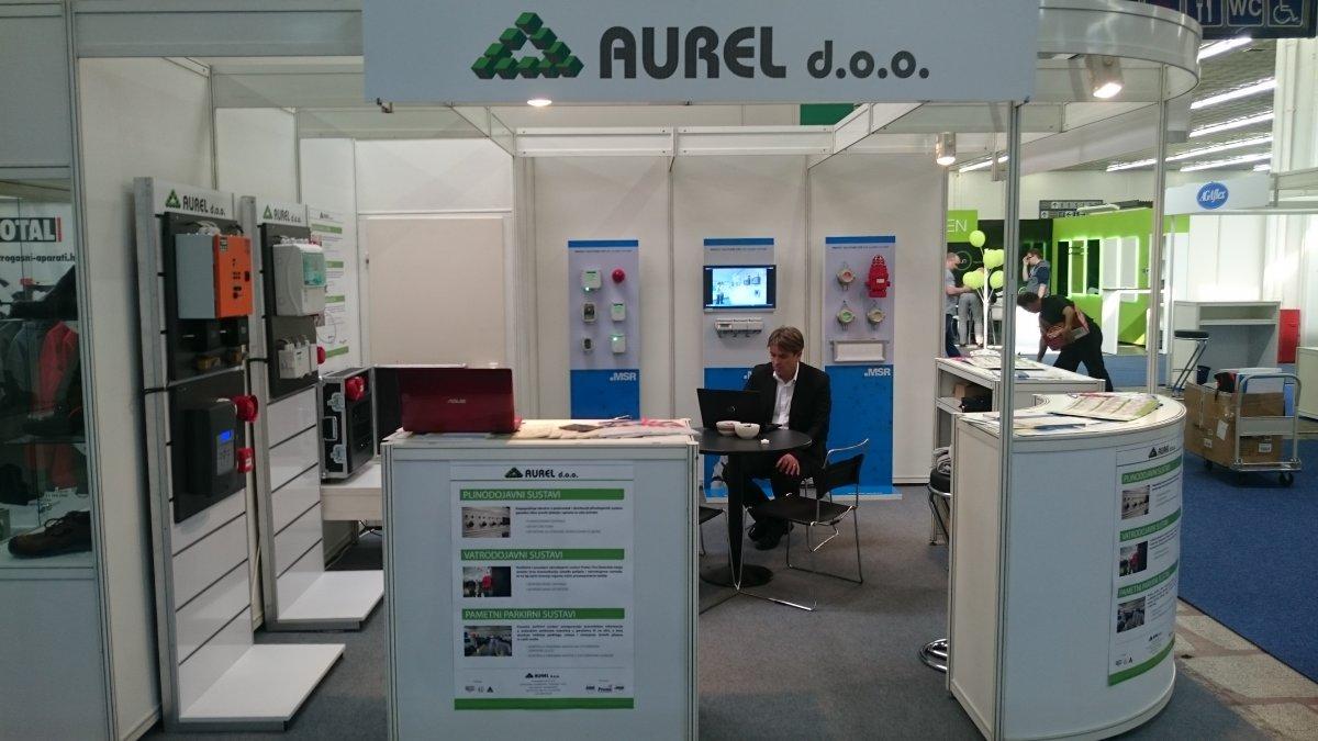 Aurel d.o.o. at Interprotex Zagreb