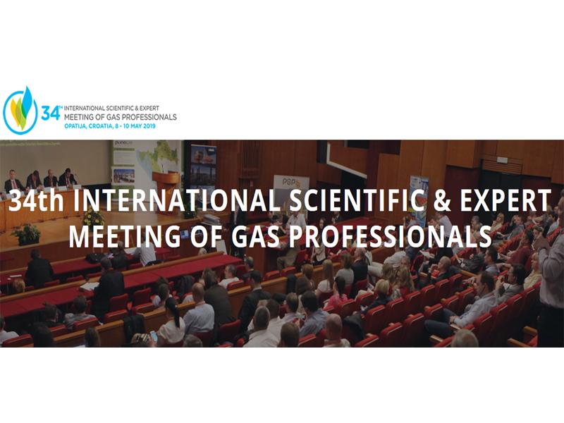 Sudjelovanje na 34. međunarodnom znanstveno-stručnom susretu stručnjaka za plin