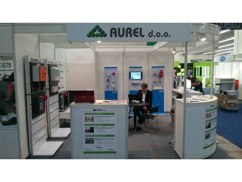 Aurel d.o.o. at Interprotex Zagreb